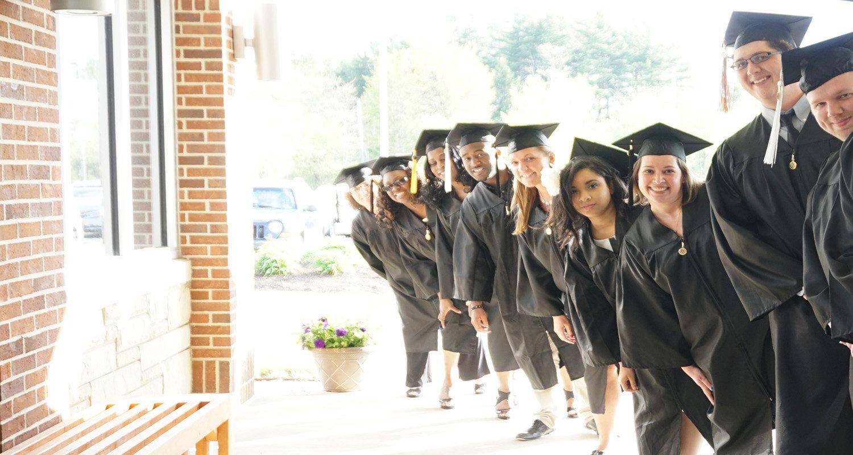 Graduates at Kent State Geauga