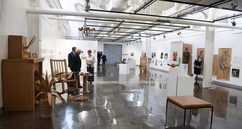 Galleries to showcase student work