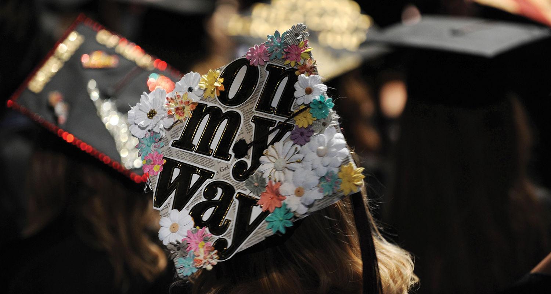 Graduation Cap Spring 2015