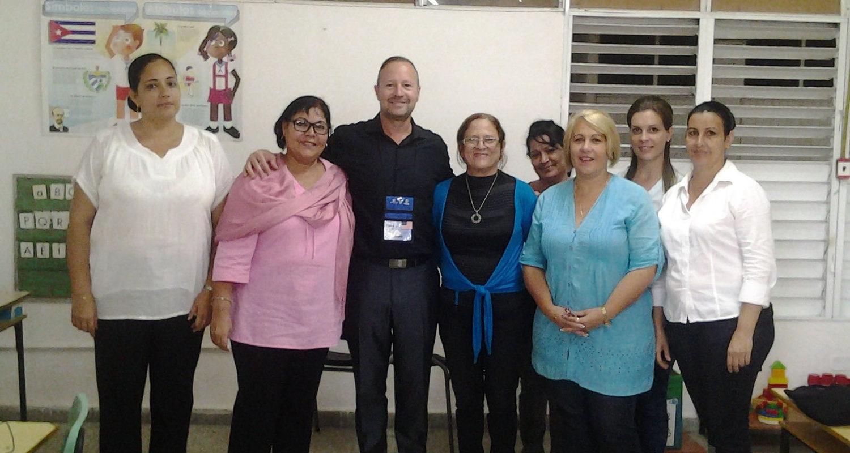 Kevin Spence in Cuba