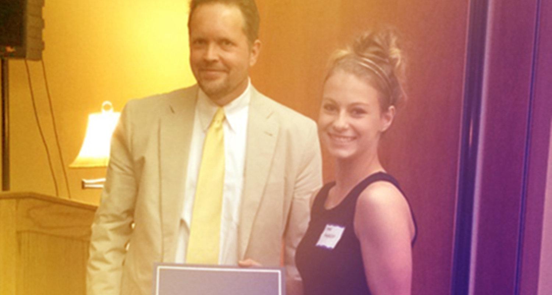 Breanna Pennypacker wins Perryman Freshman Writing Award