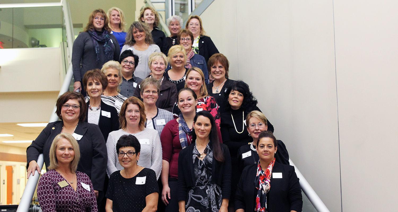 Alumni gathered to celebrates 50 years of excellence in nursing at Kent State University at Ashtabula.