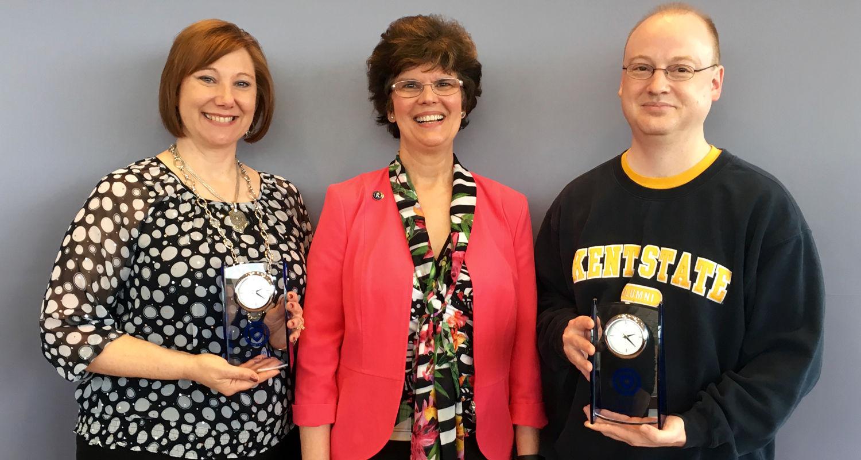2016 Staff Excellence Award Recipients