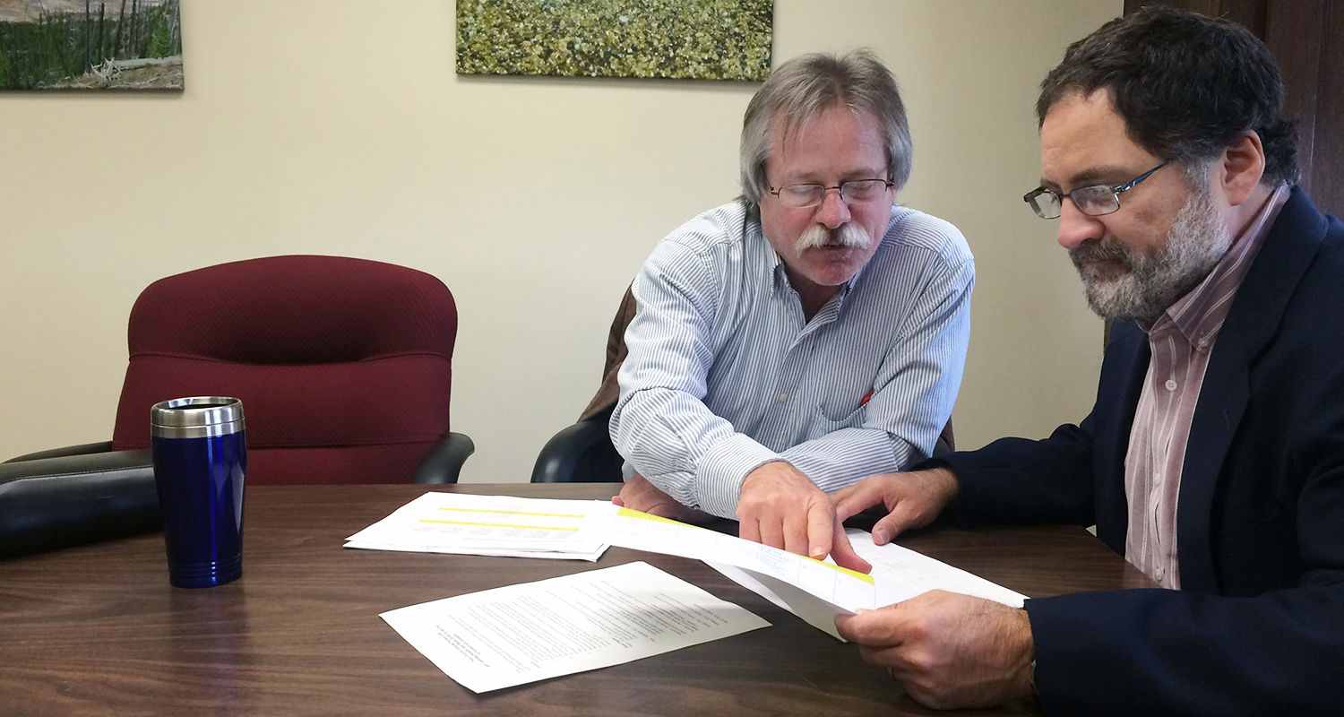 Kent State University researchers John Hoornbeek and Joseph Ortiz study current and future pollution policies in an effort to help reduce the nutrients that are causing harmful algal blooms on Lake Erie.