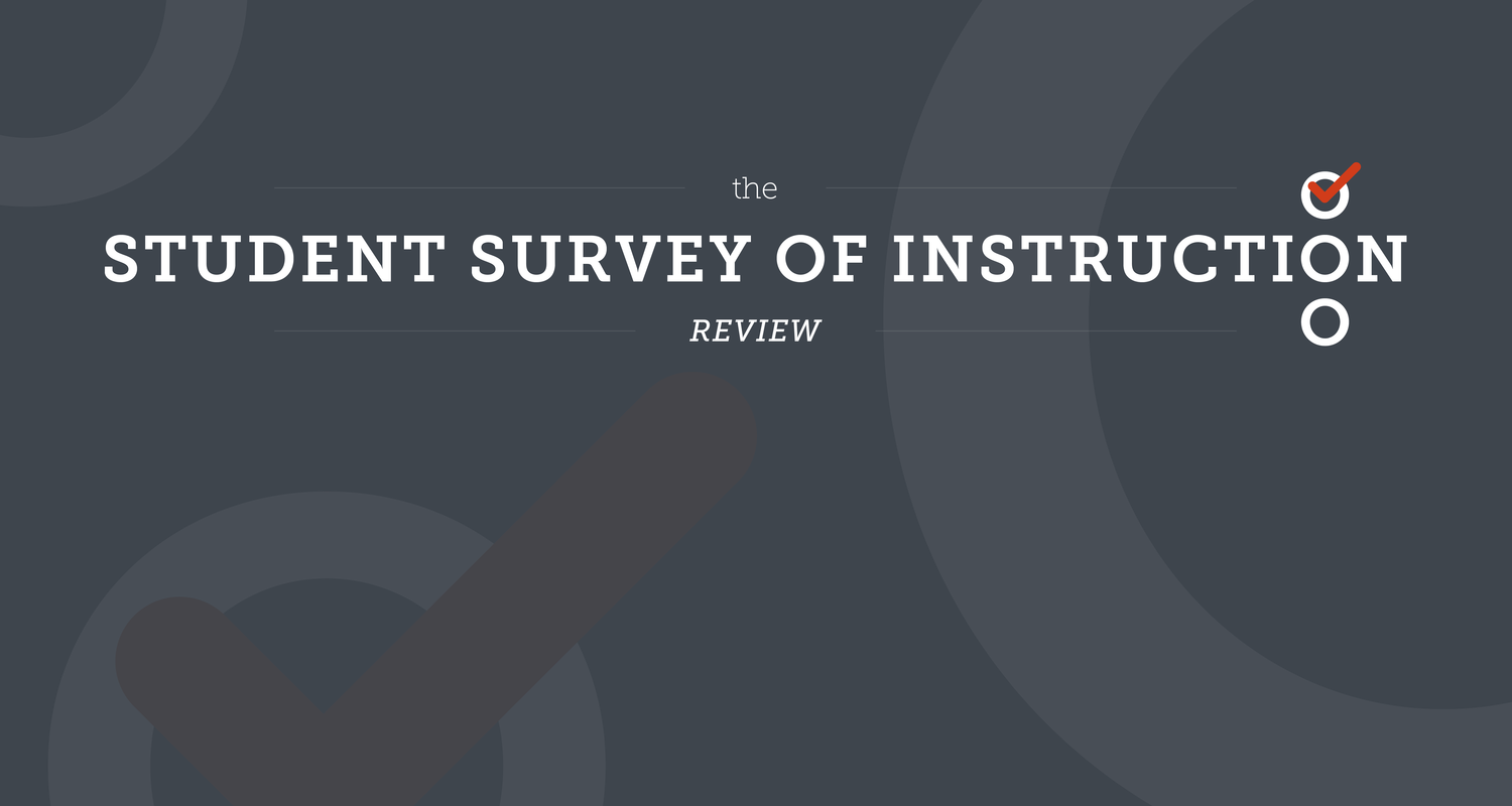 Supplemental Survey of Instruction Review image