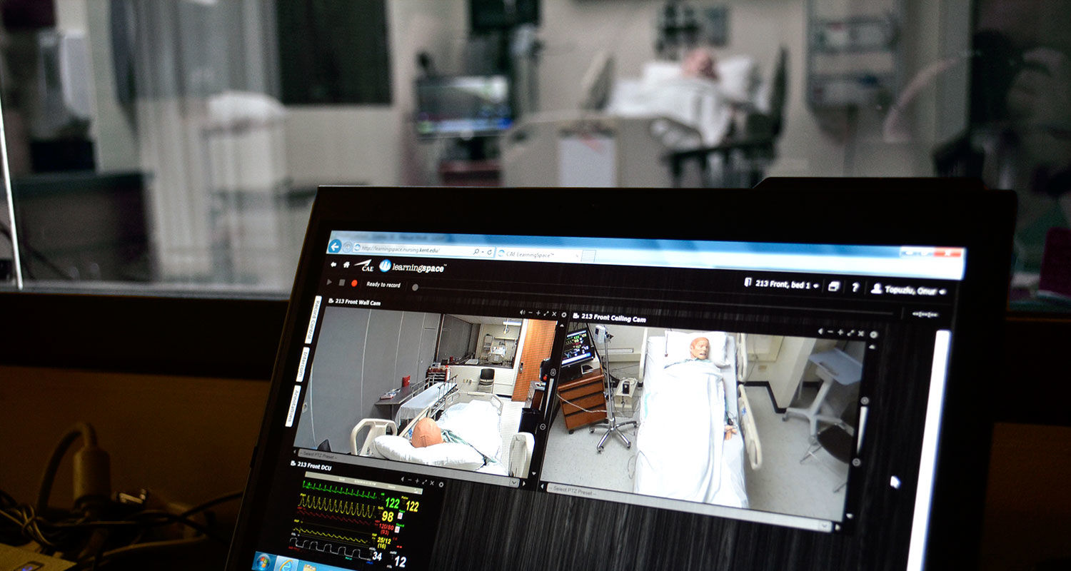 The Olga A. Mural Simulation Lab at Kent State College of Nursing recently began using LearningSpace®, a livestream and video recording software to create a collaborative learning and evaluation environment.