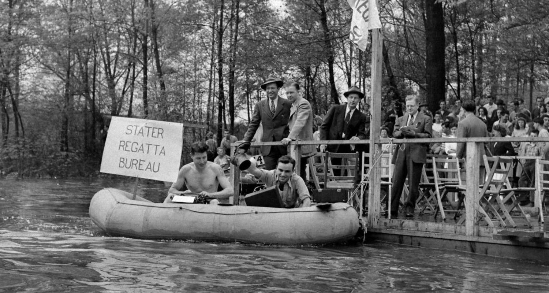 Life Magazine covers the 1947 Kent State Rowboat Regatta