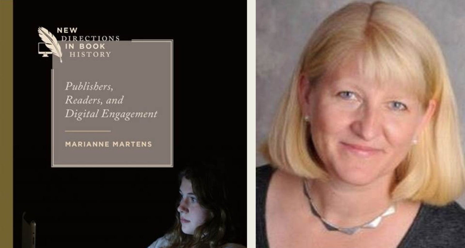 Marianne Martens & New Book on Publishers, Readers & Digital Engagement