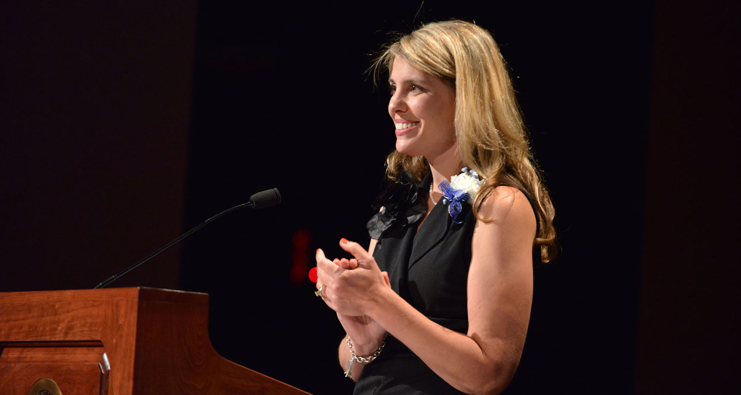 Melissa Dyer, MBA, MSN, RN, and 2014 recipient of the Donaho Award was the guest speaker for the evening.