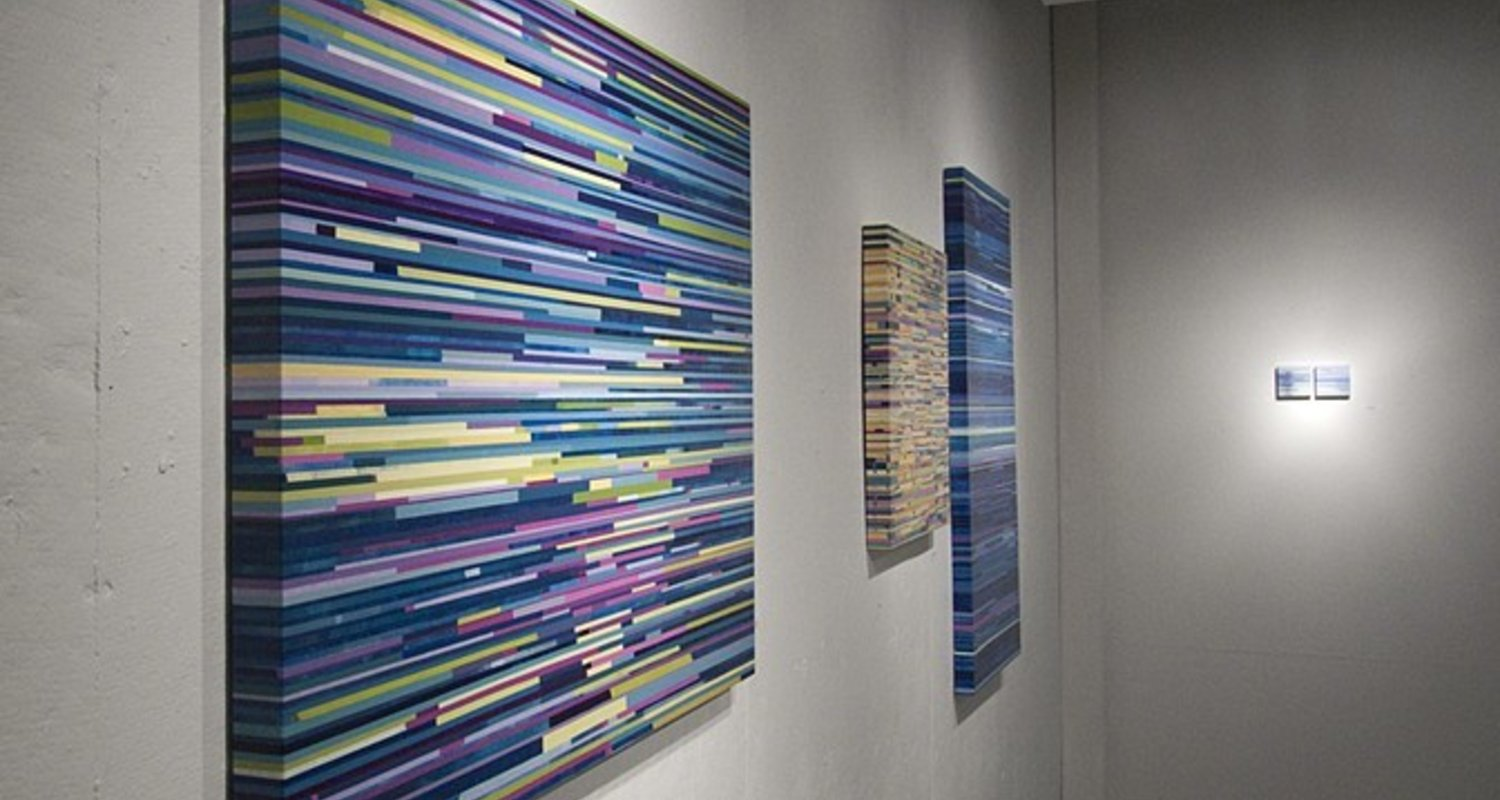 an exhibition of paintings by Lane Cooper