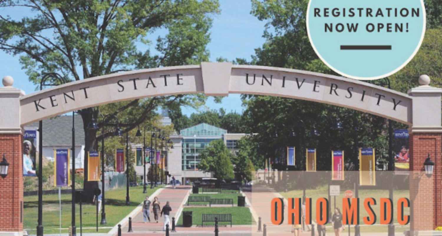 Registration now open for Ohio MSDC