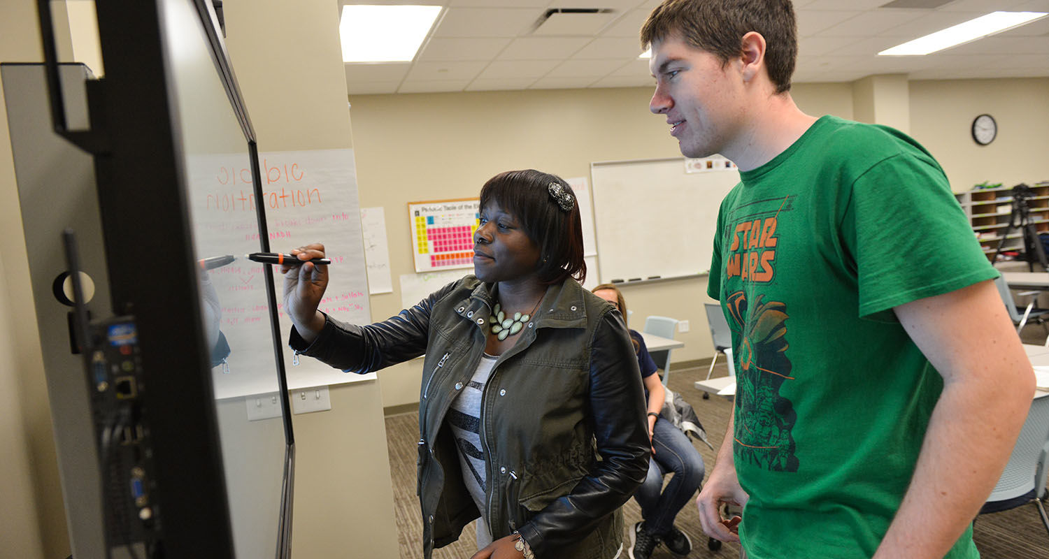Kent State University's Academic Success Center has received the Frank L. Christ Outstanding Learning Center Award for its success as an interactive academic space for students to reinforce what they learn in the classroom.