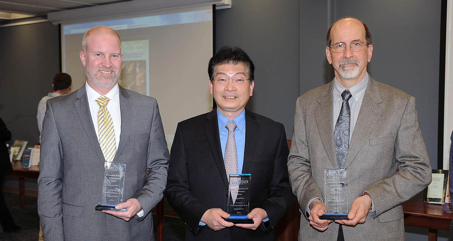 Recipients of Outstanding Research and Scholarship Awards