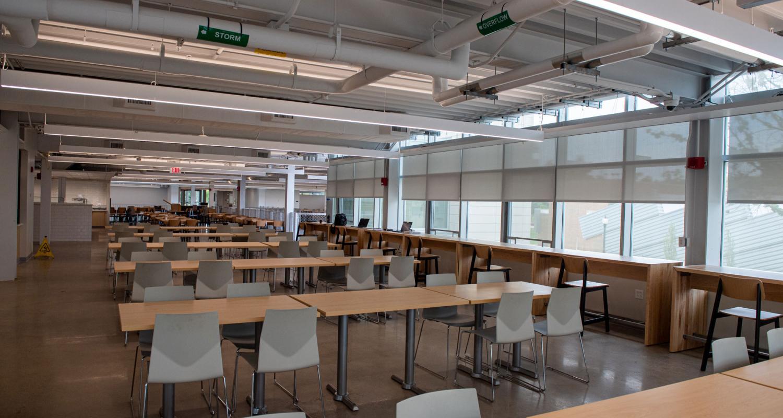 Photo of interior of DI Hub