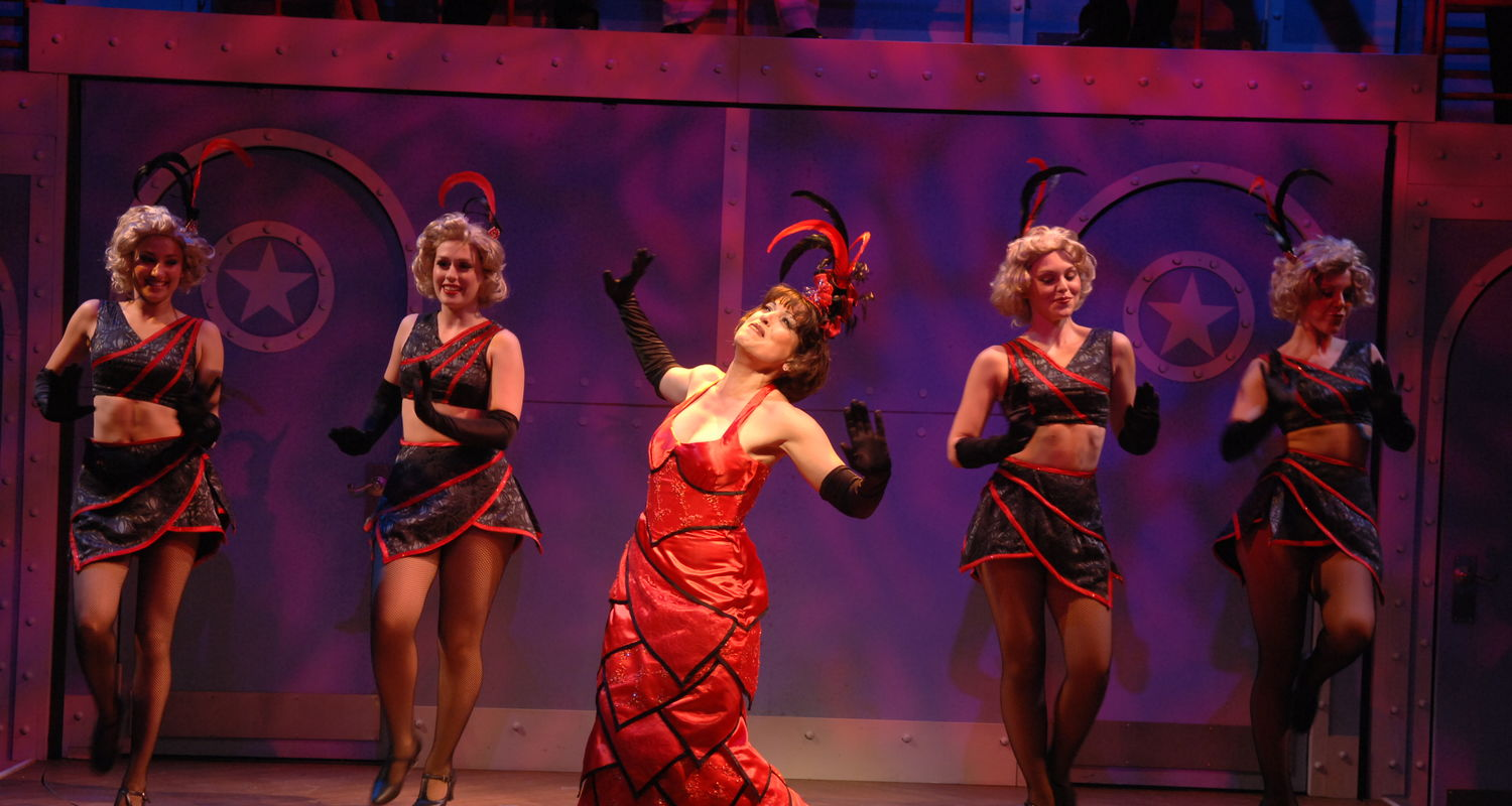 "A scene from Porthouse's 2008 production of ""Anything Goes"""