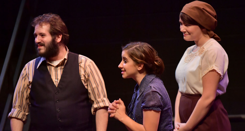 "Students perform in ""Irena's Vow"""