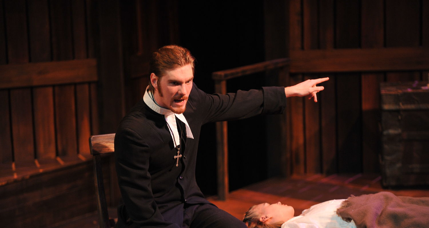"The School presents Arthur Miller's ""The Crucible"" in Wright-Curtis Theatre"