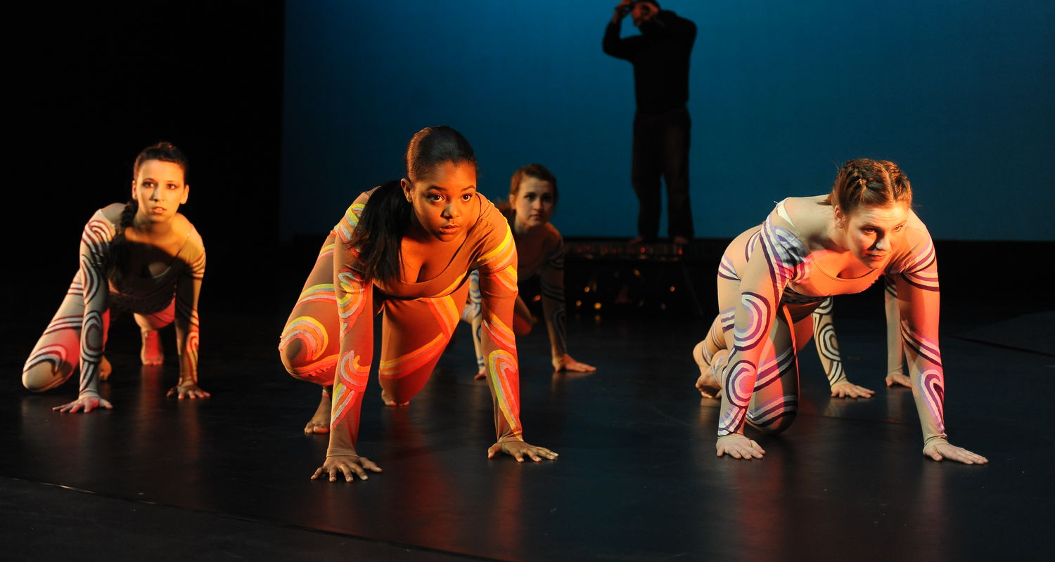 Dance students perform in Dance '12