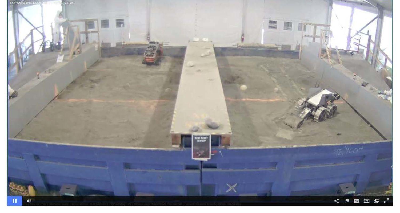 photo 1 NASA Robotic Mining Competition, Kent State vs North Florida