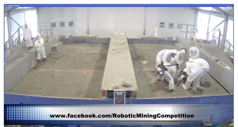 photo 2 NASA Robotic Mining Competition, Kent State vs North Florida