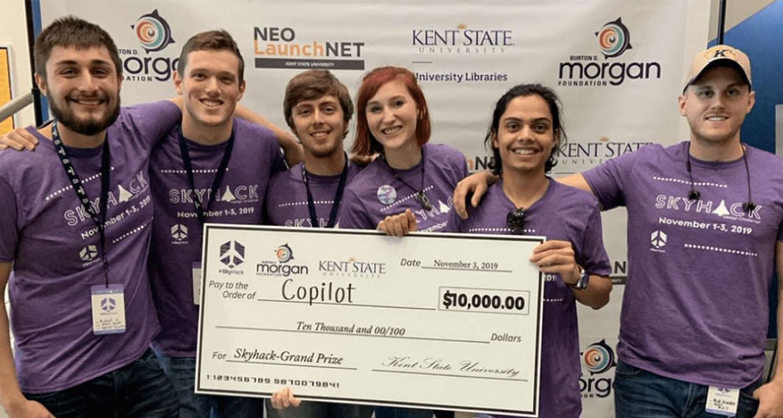 Copilot SkyHack Grad Prize Winners 2019
