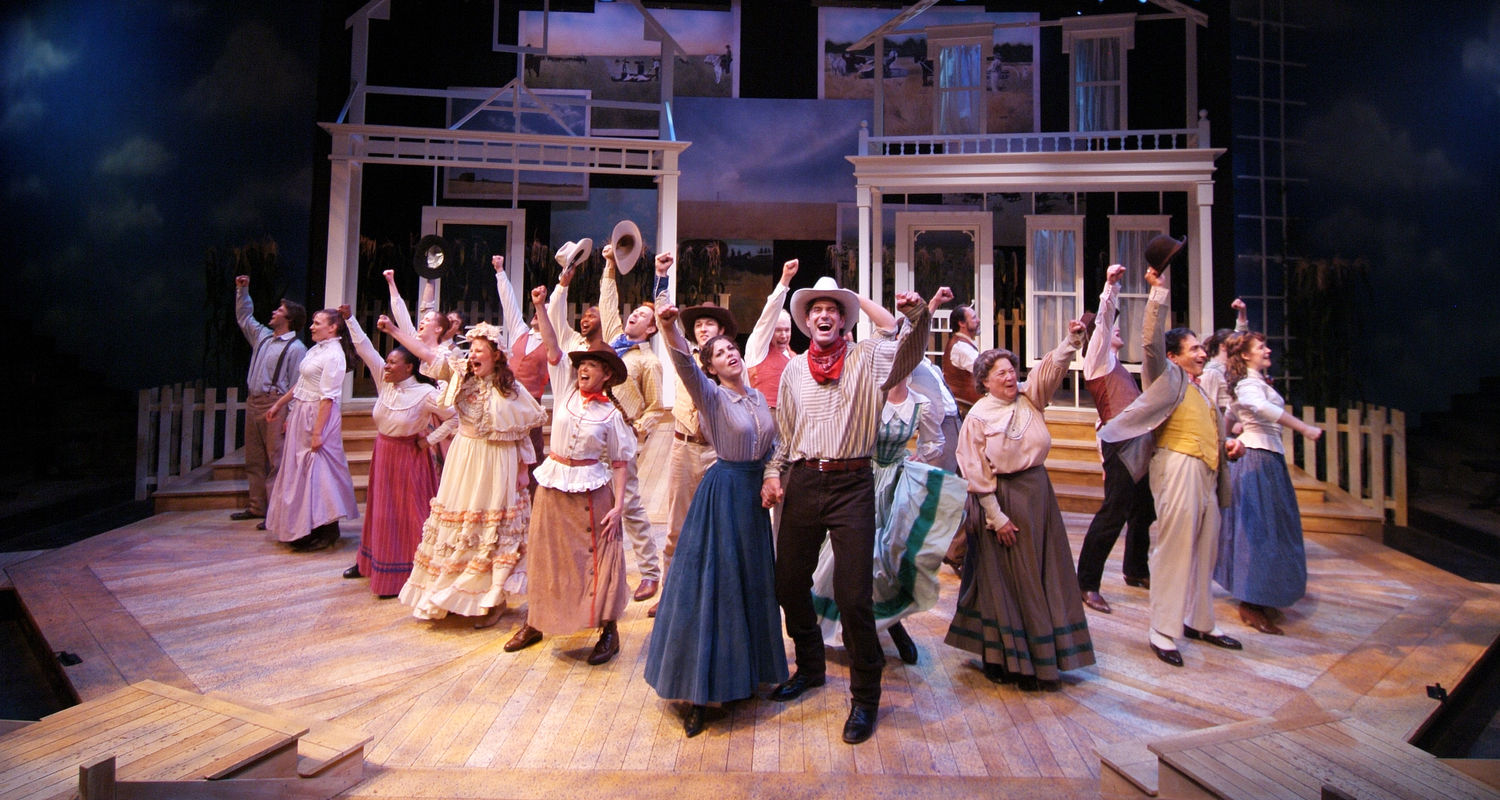 "The cast of Porthouse's 2003 production of ""Oklahoma!"" closes out a stellar performance."