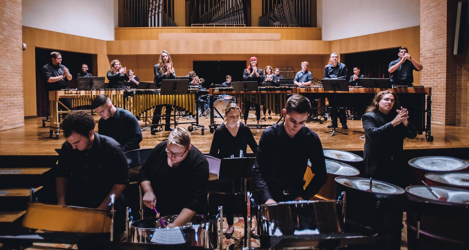 Percussion Ensemble | Photo Credit: Mason Smith