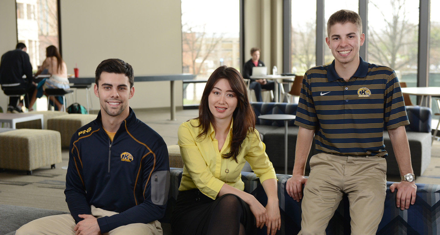 three KSU interns