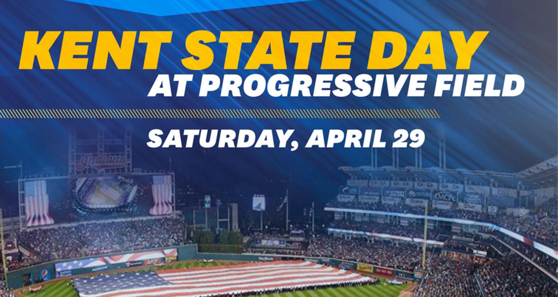 Kent State Day at Progressive Field, Saturday, April 29
