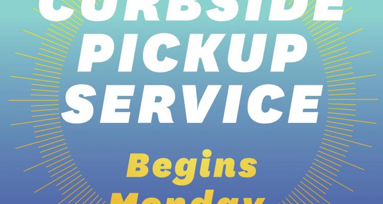 Graphic for Curbside Pickup Service