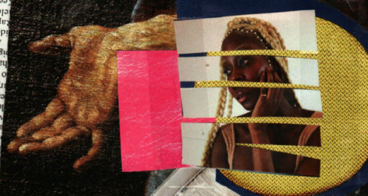 Anti-racist and Criticism Collective - A collage of magazine clippings