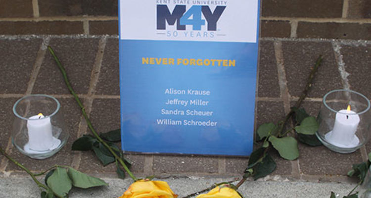 Columbiana County Campuses May 4 50th Commemoration