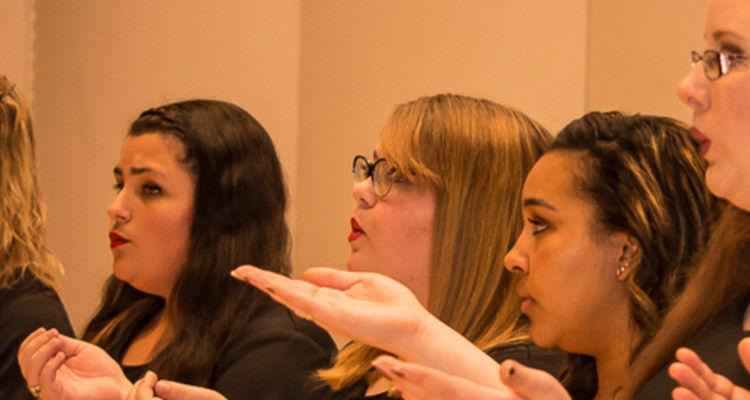Kent State University Women's Chorus has grown to nearly 70 members this year.