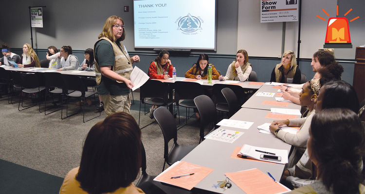 College of Nursing & College of Public Health Students are trained by disaster experts