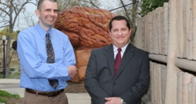 Photo of Kent State researchers and psychologists Dr. John Gunstad and Dr. Joel Hughes