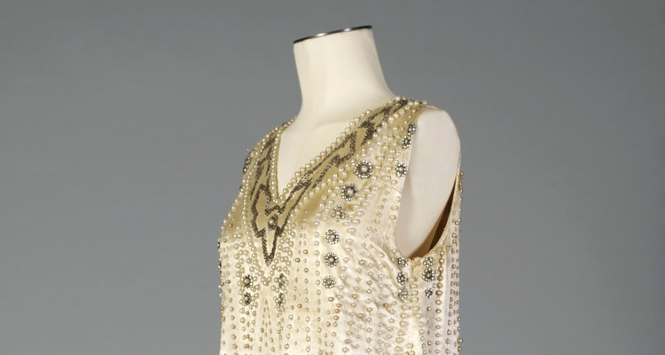 Dress from Flapper Style exhibit