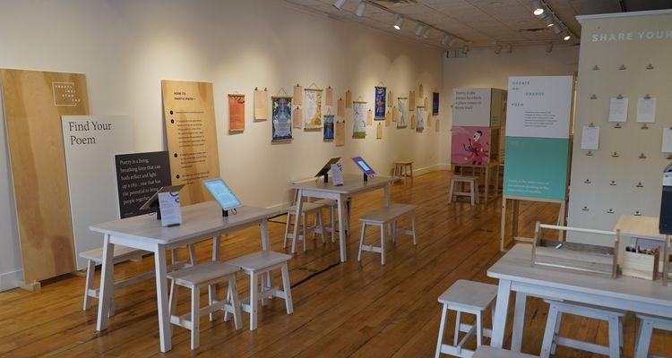River Stanzas exhibit