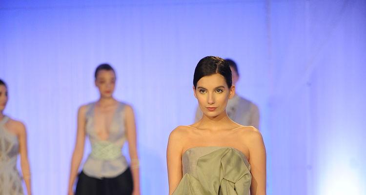 Look from best in show winner Kara Kroeger's collection