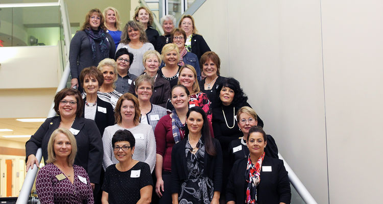 Alumni gather to celebrate 50 years of nursing education at Kent State at Ashtabula.