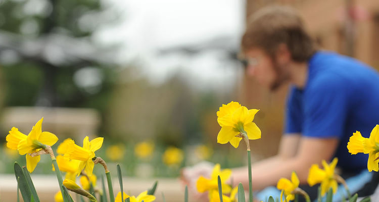 Meditation Across Campus is a new initiative that allows Kent State University students, faculty and staff to join their colleagues in free, facilitated meditation sessions around the Kent Campus.