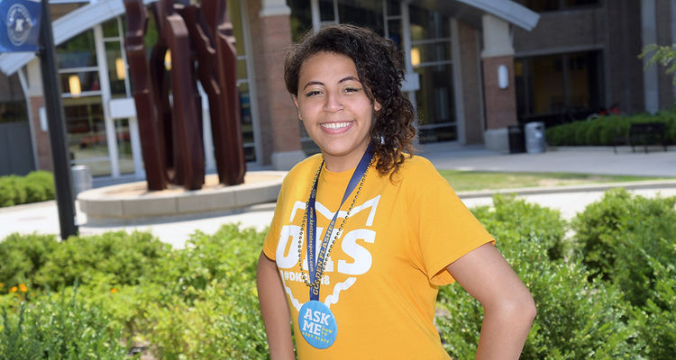 Coming from a difficult home life, Diamond Lauderdale had many challenges ahead of her in obtaining a college education. But through Kent State's EXCEL program, she has found academic success – and a new home.