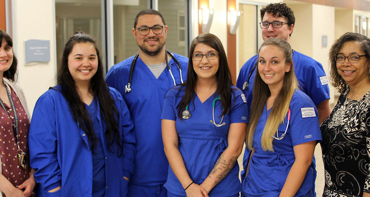 All of the students in the fall 2018 class of the Respiratory Therapy program at Kent State University at Ashtabula have jobs waiting for them when they graduate.