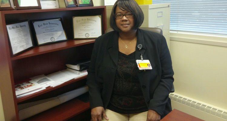 Bridgette Billingslea, M.L.I.S. 2012, M.S. 2013, is the patient access supervisor at University Hospitals, Cleveland.