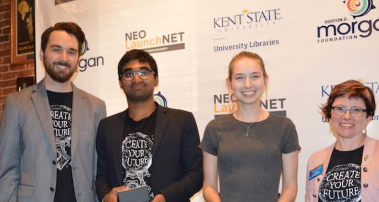LaunchNET gives awards for student clients at Expo and Awards celebration
