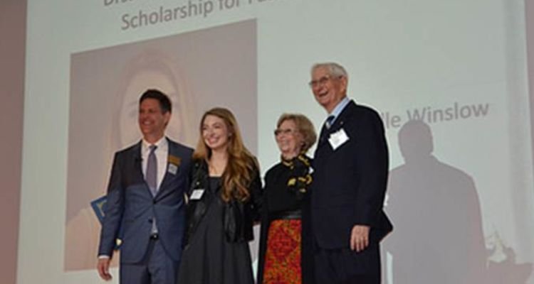 Dr. Geneva M. Damron and Dr. O. Rex Damron's generosity helps give students' dreams a fair chance to come true.