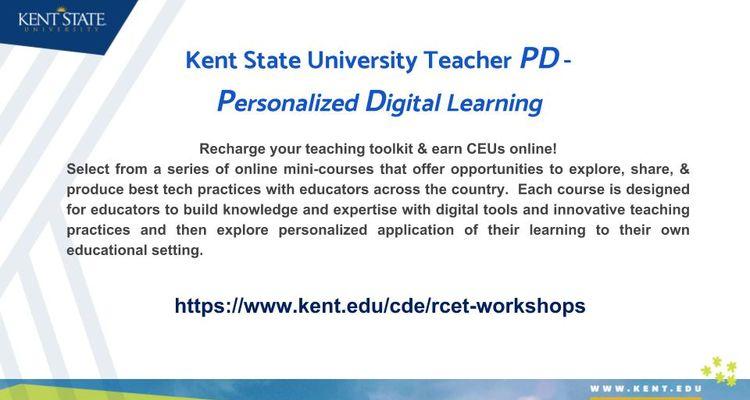 RCET Summer Professional Development