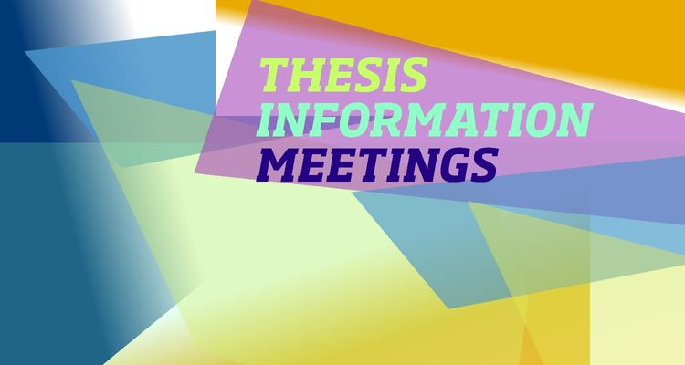 The Honors College will hold Thesis Information Meetings on September 27, October 21, and November 22.