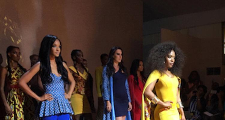 Khosi Nkosi runway show at Mercedes-Benz Fashion Week Johannesburg 2016