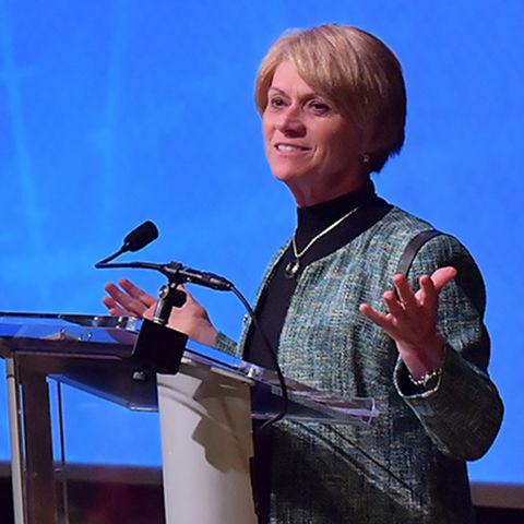 Kent State University's President Dr. Beverly Warren