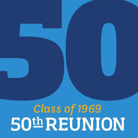 Class of 1969 50th Reunion Logo